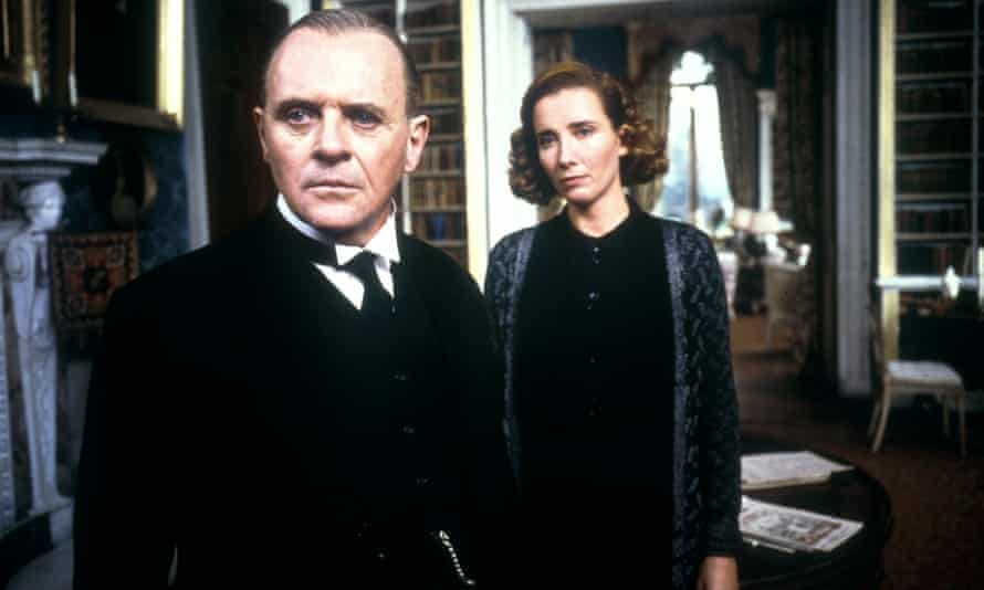 Anthony Hopkins and Emma Thompson in The Remains of the Day