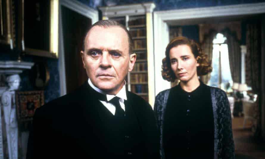 Nominated for eight Oscars … Anthony Hopkins and Emma Thompson in The Remains of the Day, a Merchant Ivory production from 1993.