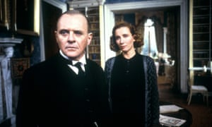 Class divide … Anthony Hopkins and Emma Thompson in The Remains of the Day.