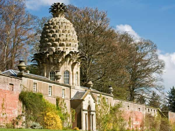 The Dunmore Pineapple, built in 1761 at Dunmore Park, Airth, Falkirk, Scotland