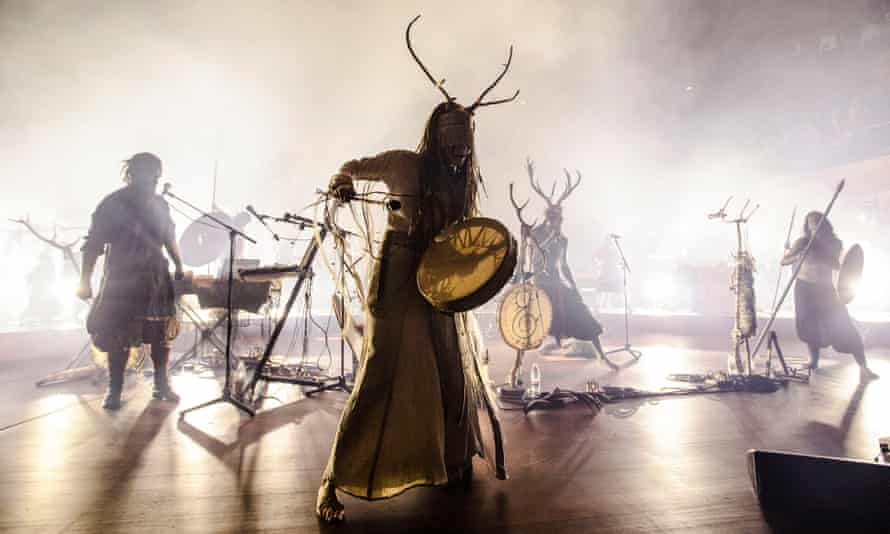 'Like a scene from Lord of the Rings' … Heilung in full flow.