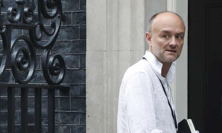 Dominic Cummings, special adviser to the prime minister.