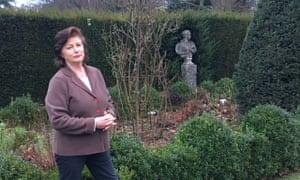 Trudie Procter in her estate in Bletchingley, Surrey.