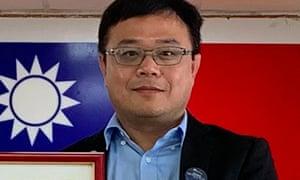 Taiwanese man Lee Meng-chu