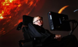 Stephen Hawking, who has died aged 76