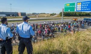 Refugees in Denmark