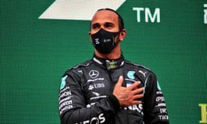 Lewis Hamilton. Photograph: PA