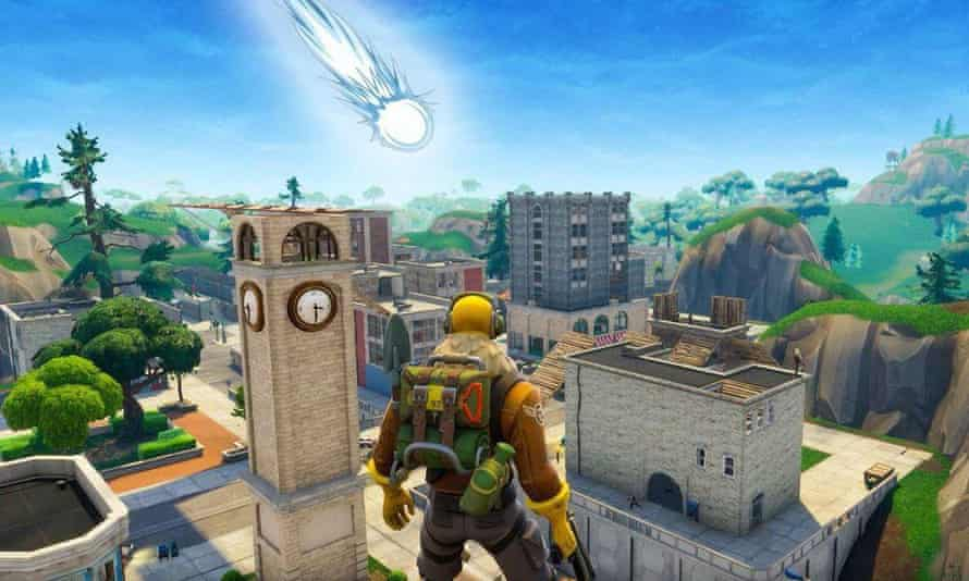Fortnite makes careful use of environmental story-telling, both within map designs and through major events such as comet falls
