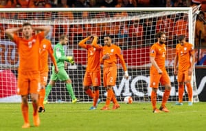 The Dutch go out after another defeat.