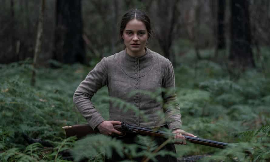 Aisling Franciosi in Jennifer Kent's film The Nightingale.