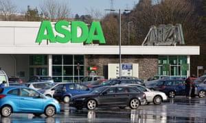 An Asda store in Ystalyfera, south Wales
