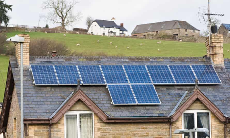 During sunny spells when homes generate more electricity from solar panels than required they can store it to use later, or supply the energy system.