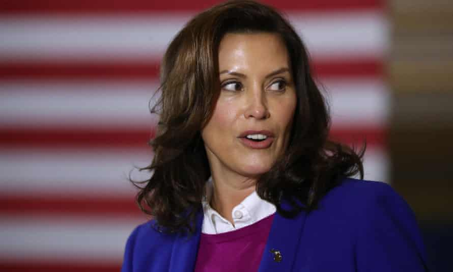 Governor Gretchen Whitmer told the court in a victim impact statement: 'Threats continue. I have looked out my windows and seen large groups of heavily armed people within 30 yards of my home.'