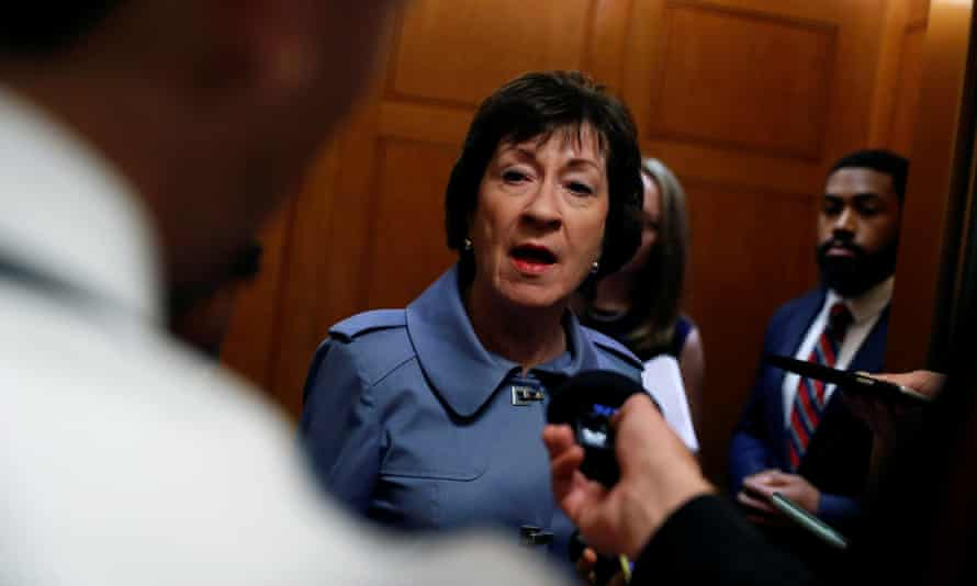The Republican senator Susan Collins is facing a barrage of ads from abortion rights supporters.
