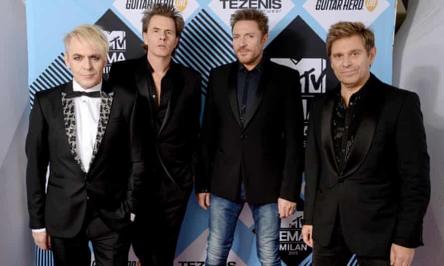 Duran Duran, winners of the Video Visionary award.