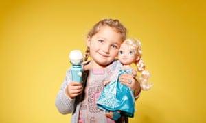 Disney's Frozen Sing-A-Long Elsa doll.