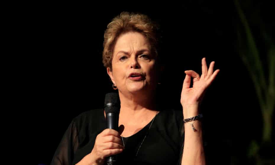 Dilma told the Guardian: 'We are adrift on an ocean of hunger and disease … It truly is an utterly extreme situation that we're witnessing in Brazil.'