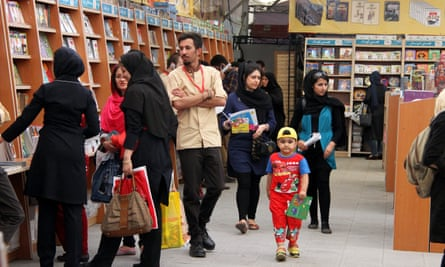 Too many cooks spoil the books … visitors to the Tehran international book fair in 2014.