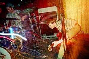 Garage rockers Thee Headcoats play the venue in 1997.