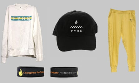 Fyre festival items being sold by the US Marshals Service