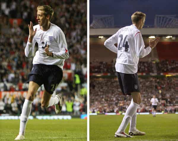 Crouch doing that robot dance