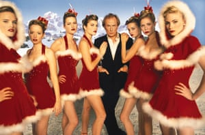 Bill Nighy bags a Christmas No 1 in Love Actually.