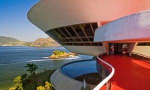 MAC - Museu de Arte Contemporanea de Niterói.