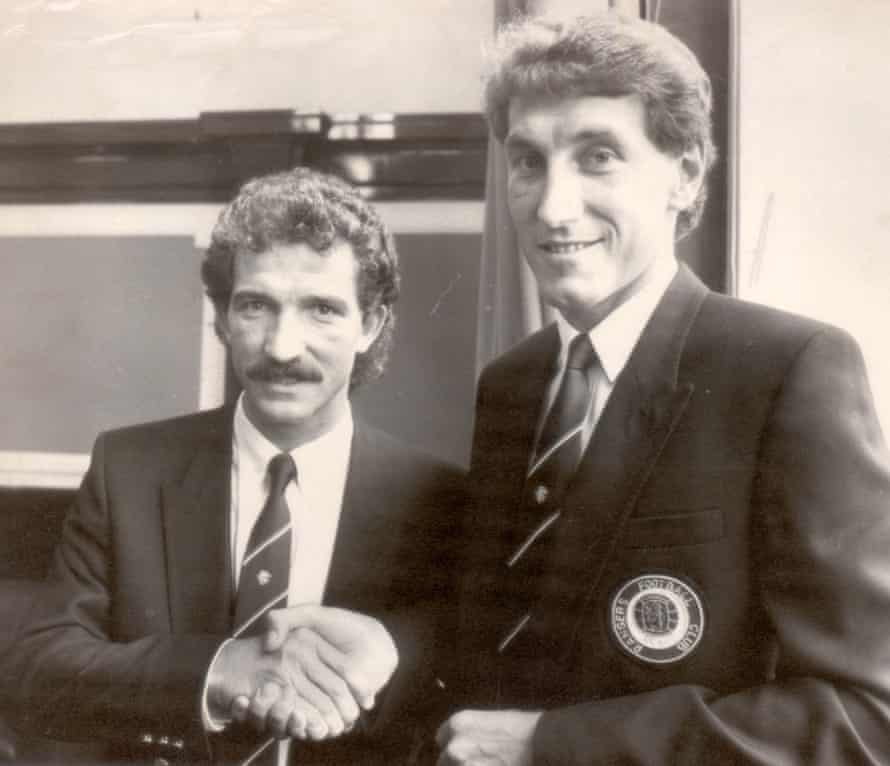 Souness said Rangers had signed 'the best centre-half in the world' when Terry Butcher arrived at the club.