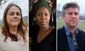 Authors Jocelyn Moorhouse, Sisonke Msimang and Richard Cooke