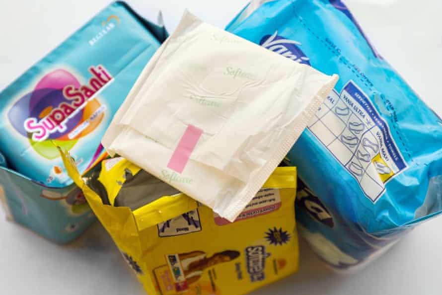 Cotton sanitary pads