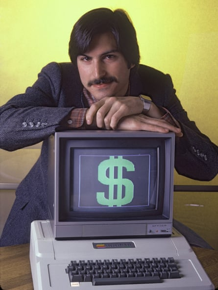 Apple founder Steve Jobs 'got the notion of tools for human use'.