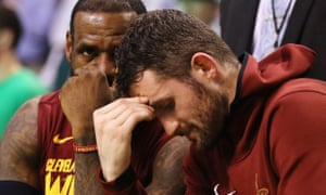 Kevin Love of NBA team Cleveland Cavaliers has opened up about the pressures of playing sport at the top level, which led him to have panic attacks on court.