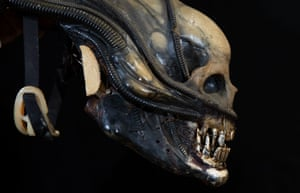 A special-effects mechanical head from 1979's Alien, estimated at £40,000-£60,000
