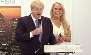 Boris Johnson with Jennifer Arcuri in July 2013