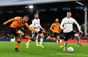 Jarrod Bowen of Hull City fires home to double the visitors' lead.