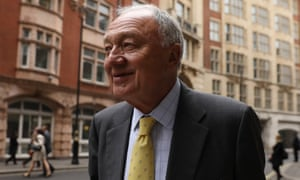 Ken Livingstone at a disciplinary hearing over his remarks about Hitler's support for Zionism.