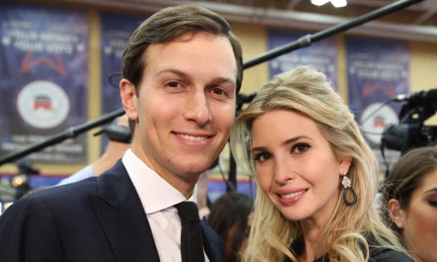 Ivanka's husband's ownership of the New York Observer came under the spotlight during the campaign.