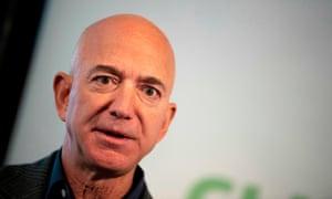 Amazon founder Jeff Bezos, the world's richest person.