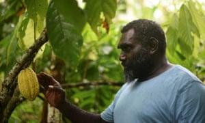 Former rebel military commander Ishmael Toroama, the new president of Bougainville.