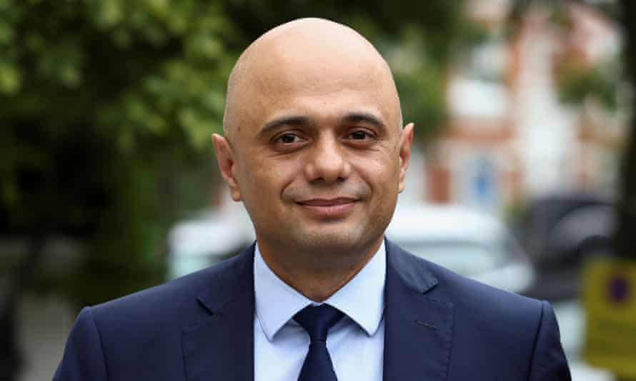 Sajid Javid's positive Covid test led to Boris Johnson and Rishi Sunak self-isolating.