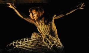 Sylvie Guillem in Alexander McQueen's designs for Eonnagata.