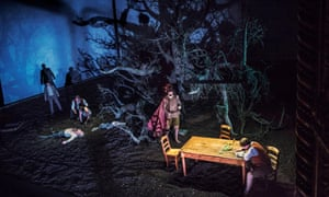 Guillaume (William) Tell at the Royal Opera House, Covent Garden. A Guardian critic has described the rape scene as 'protracted and pruriently voyeuristic'.