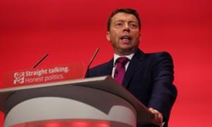 Labour party general secretary Iain McNicol