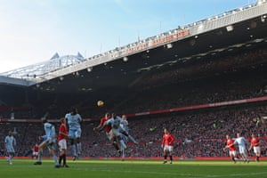 The Manchester United derby at Old Trafford