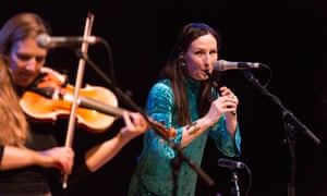 Nothing to prove … Julie Fowlis, right, at Celtic Connections in Glasgow.