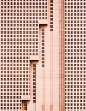 Building With Steps (Fort Worth, Texas)  by Nikola Olic