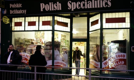A Polish specialty food shop in Ealing