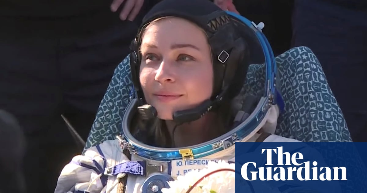 Russian film crew return to Earth after shooting the first movie in space
