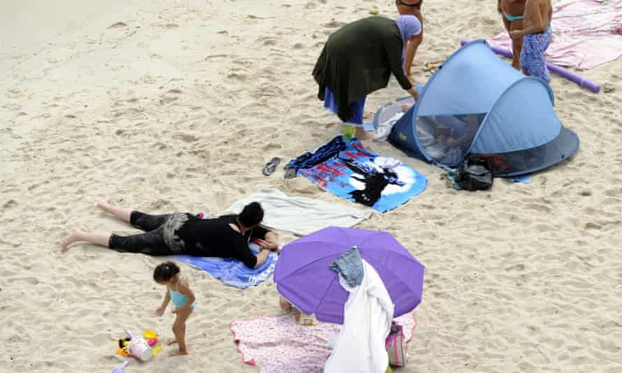 The  burkini issue in France began with a ban at an urban beach in Paris, which was later overturned by the courts