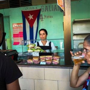 Cuban government-run restaurant